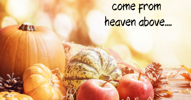 Worship Service for Thanksgiving Sunday image