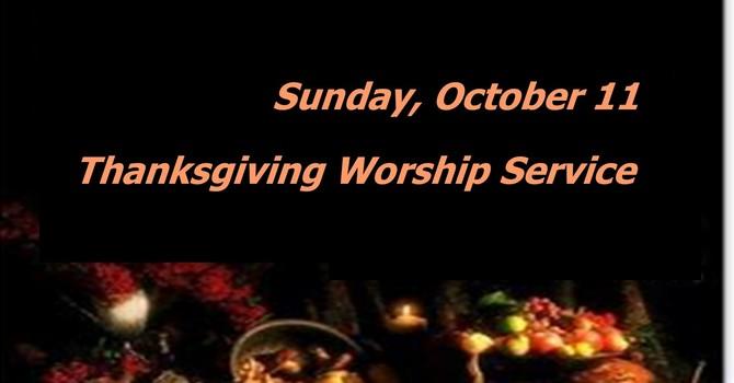 Sunday, October 11 Worship Service image