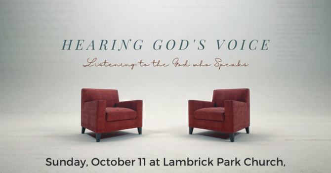 Hearing God's Voice - Introduction