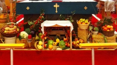 2015 Thanksgiving display Ministry
