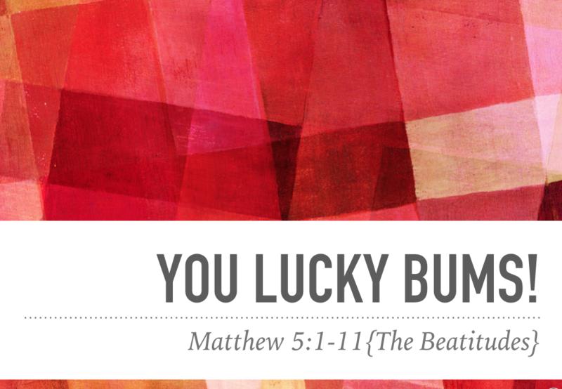 You Lucky Bums (Part 1)