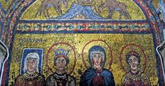 Mosaic in santa prassede