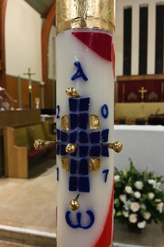 Paschal candle 2017 13