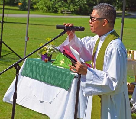 Tri-Parish Eucharist in Surrey