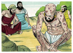 Book of job chapter 2 6 %28bible illustrations by sweet media%29