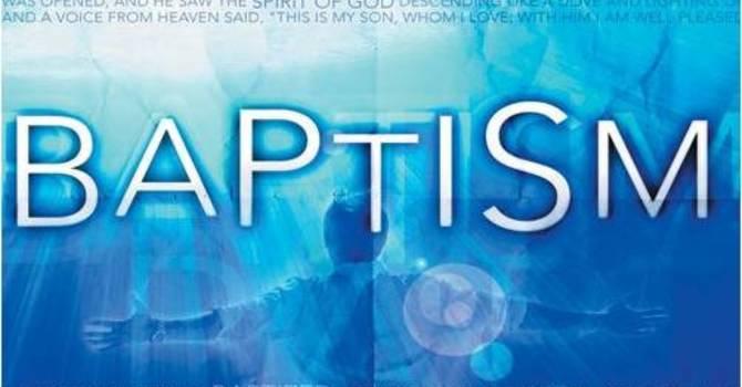 Baptism Opportunity - Easter Sunday image