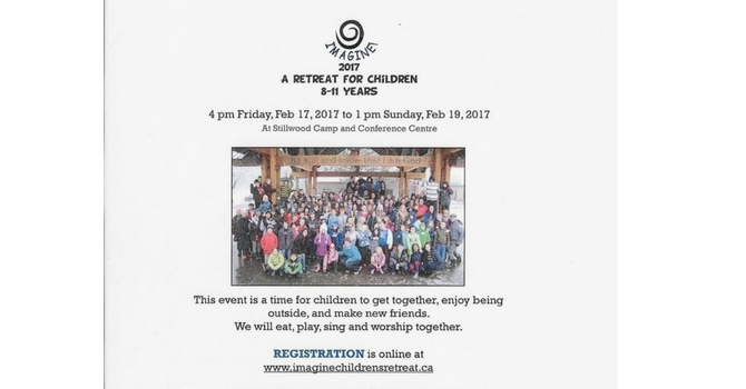 Imagine! 2017 - A Retreat for Children 8-11 years old image