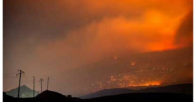 Prayer for those Affected by B.C. Wildfires image