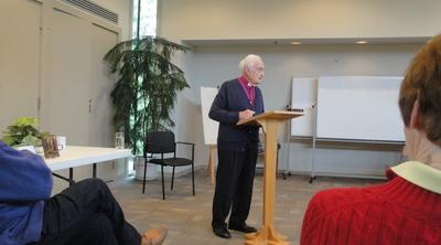 Archbishop Douglas Hambidge at St. Stephen's Ministry