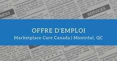 Offre emploi marketplace care canada