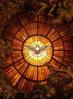 Rom%2c vatikan%2c basilika st. peter%2c die taube des heiligen geistes %28cathedra petri%2c bernini%29
