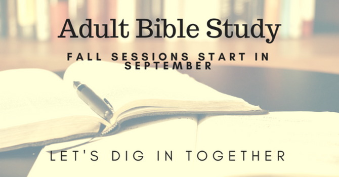 Men's and Women's Bible Study