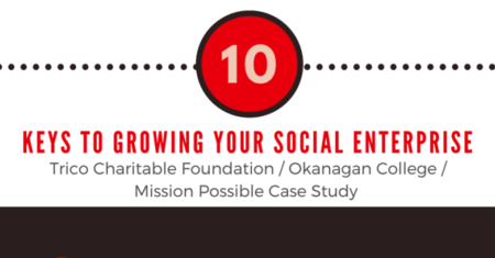 10 Keys to Growing Your Social Enterprise - Infographic