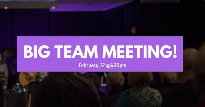 Big Team Meeting