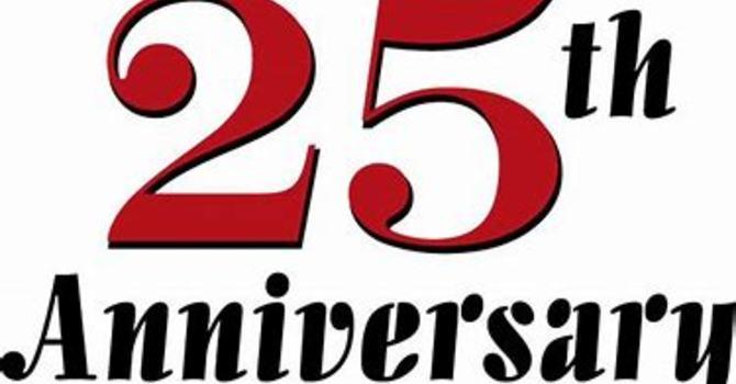 All Saints' 25th Anniversary