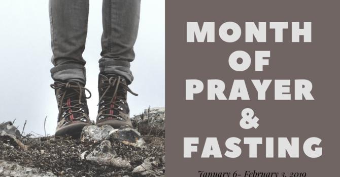 Month of Prayer & Fasting