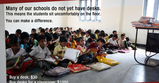 Desks for Dalit Kids image