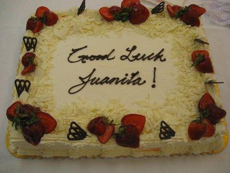 Saying Goodbye (For Now) To Juanita