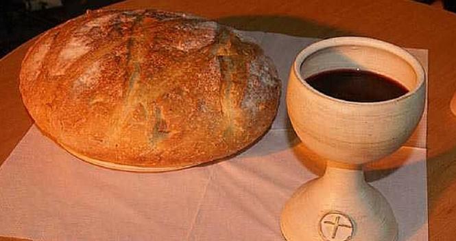 Communion or Eucharist service