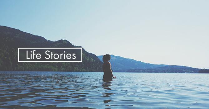 Life Stories - River baptism image