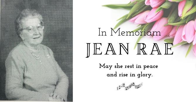 Jean Rae image