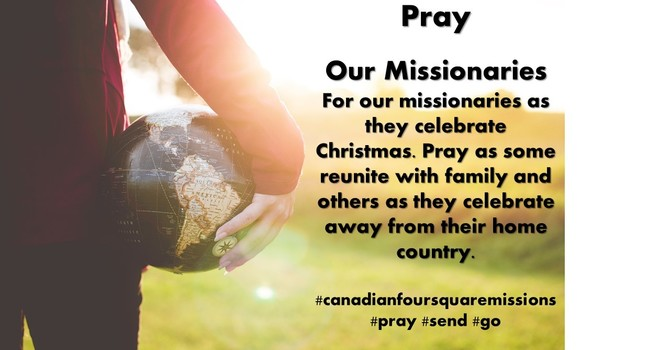 Pray: Our Missionaries image