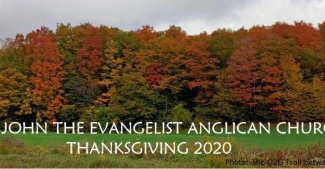 Thanksgiving 2020 - Parish Letter image