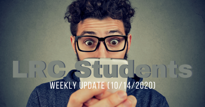 LRC Student Weekly Update image