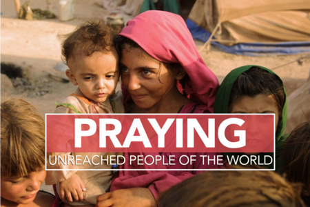Praying for the unreached of the world