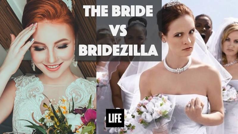 The Bride or Bridezilla
