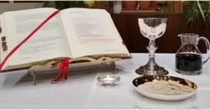 Midweek Eucharist with Prayers for Healing image