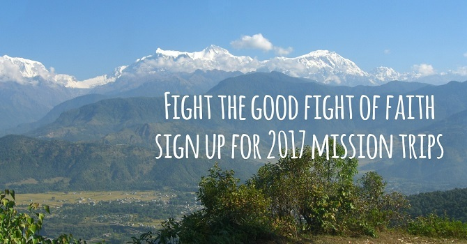 Mission Trips in 2017 image