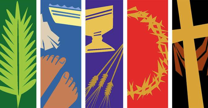 Introduction the Passion on Palm Sunday image