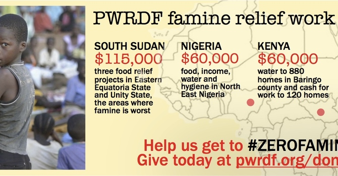 UPDATE: PWRDF Famine Relief Matching Funds image