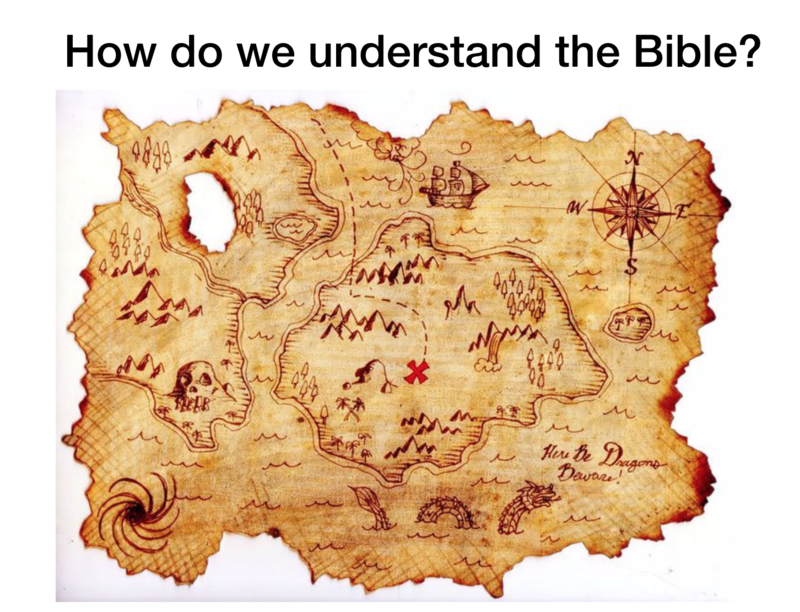 The Bible: Treasure or Treasure Map?