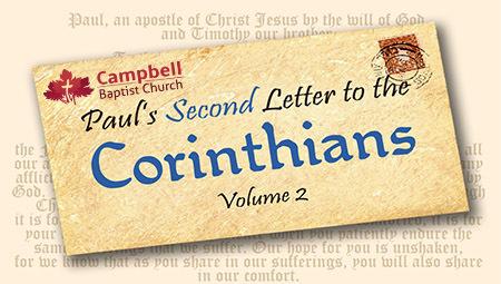 Paul's Second Letter to the  Corinthians Vol. 2