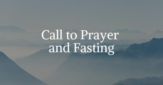 Call to Prayer and Fasting image