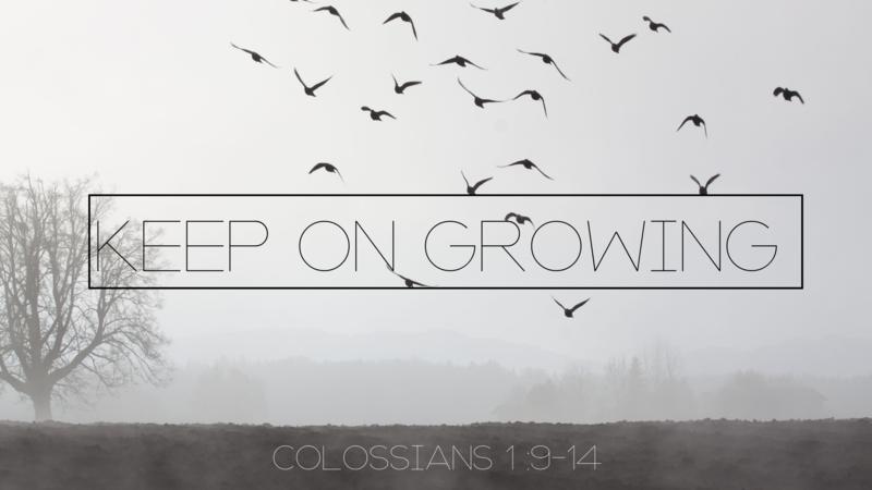 Keep on Growing