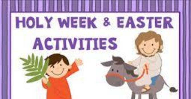 Family Holy Week  image