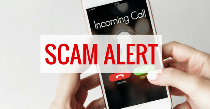 Receiving fraudulent & nuisance phone calls? image