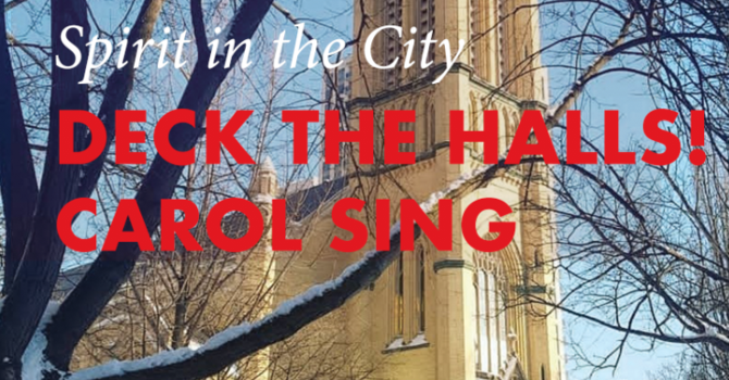 Deck The Halls! Carol Sing