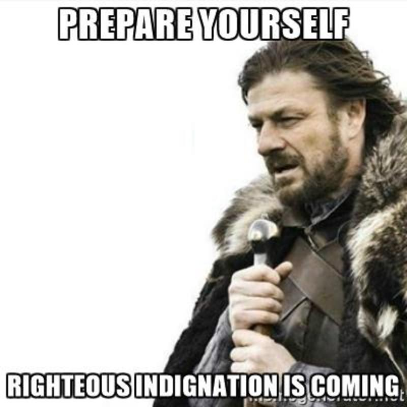 """Righteous"" Indignation--5th Sunday of Easter"