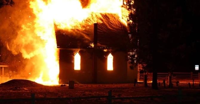 CONCERN AROUND CHURCH ARSON ATTACKS IN MERRITT AND AREA image