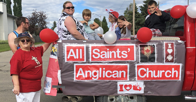 All Saints' Has Busy Summer Building Community in Drayton Valley