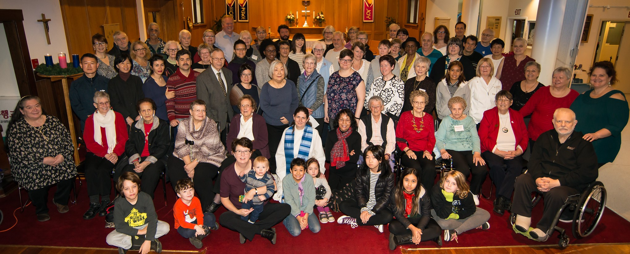Photo of All Parish Members