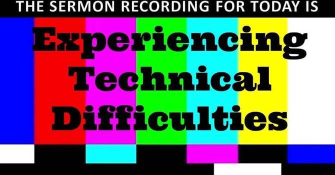 technical problem again