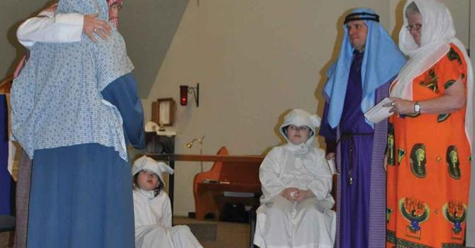 Pageant Tableau at Church of the Epiphany image