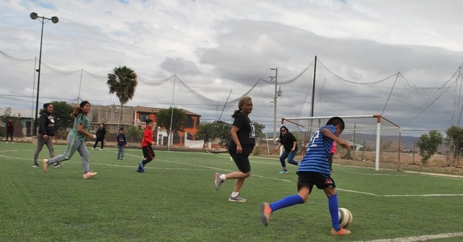 Soccer Game on Mother's Day image