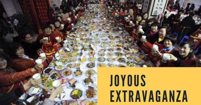 Sermon: Joyous Extravaganza image