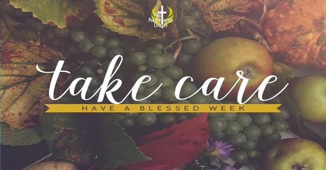 Sunday October 11 message